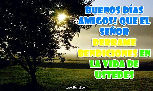 Imagenes de Buenos Dias para Facebook