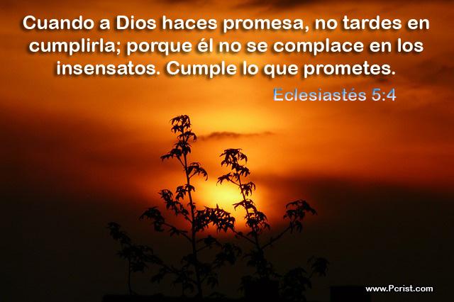 Cuando Hagas promesas Imagenes Cristianas