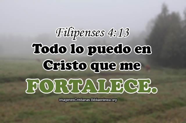 Todo lo puedo en Cristo imagenes cristiana