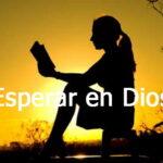 esperar en Dios